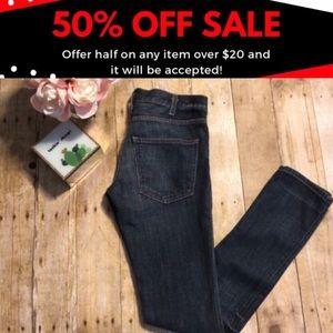 Current/Elliott Skinny Jean in Loved Wash- Size 26